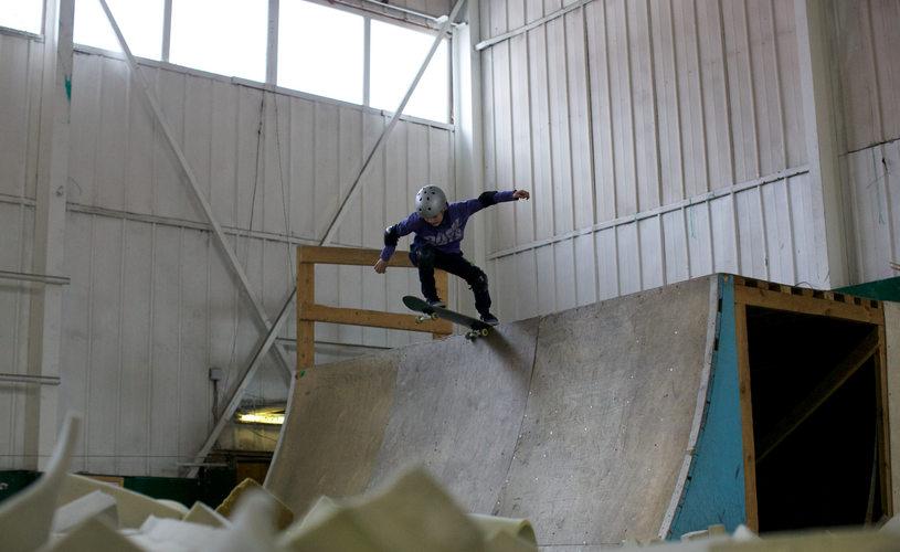 обучение скейту