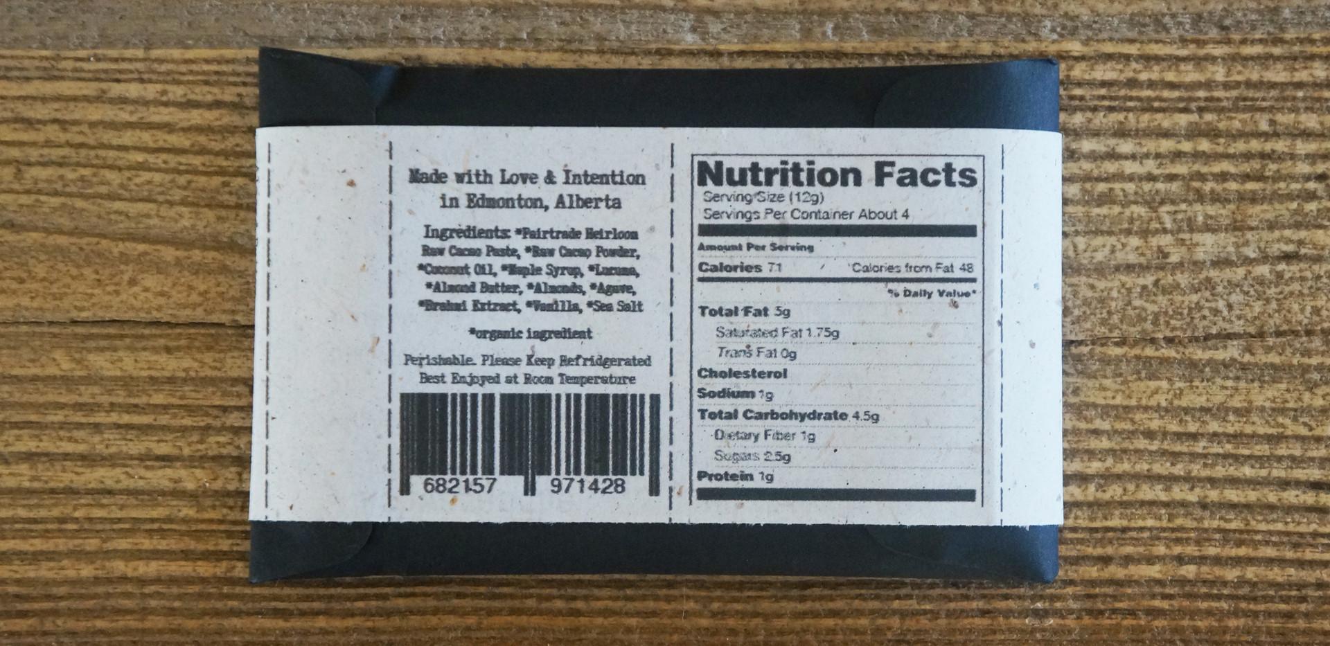 Almond Butter And Caramel Crunch Raw Chocolate Bar