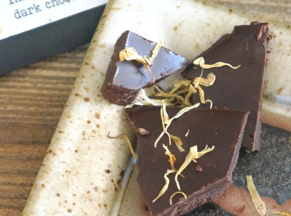 Orange Bergamot Raw Chocolate