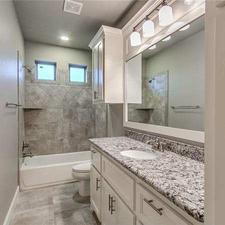 Brenham Texas Bath Remodel
