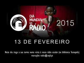Visitas no Dia Mundial da Rádio