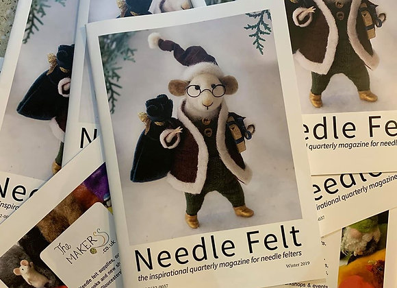 PDF DOWNLOAD Needle Felt Magazine Winter 2019