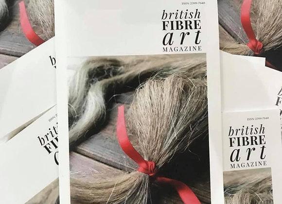 PDF Issue 10 British Fibre Art Magazine July / August 2019