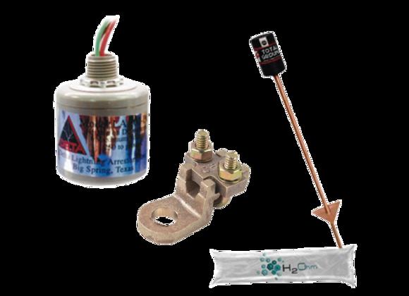 Kit de Tierra Física con Supresor de Descargas
