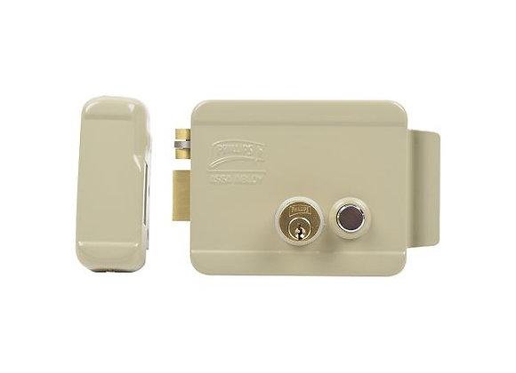 Cerradura Eléctrica / Incluye Llave /Con Botón integrado / Izquierda /