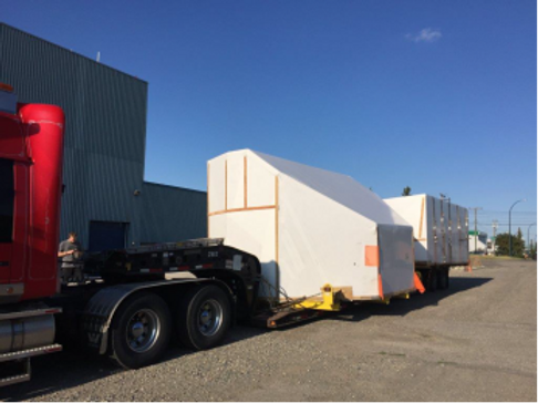 Twin Otter Simulator - Major Pieces Arrive in YYC