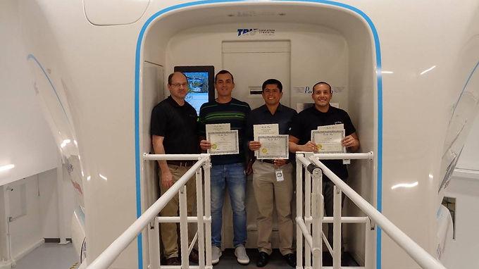 Peruvian Air Force Simulator Training
