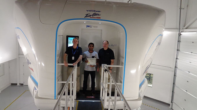 First DHC6 400 Level D Twin Otter Simulator Student