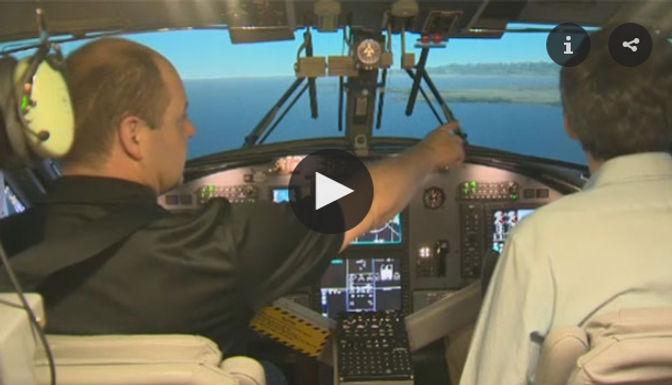 CTV News Footage: Twin Otter Simulator Launch