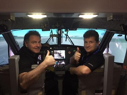 "The Twin Otter Level ""D"" Full Flight Simulator Installation Complete!"