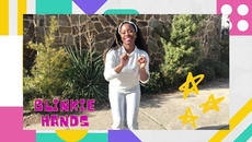 Inspired by Bilboard's Top 100 smash hit   Twinkle Twinkle, Little Star, Blinkie Hands is a dance-a-long for toddlers.