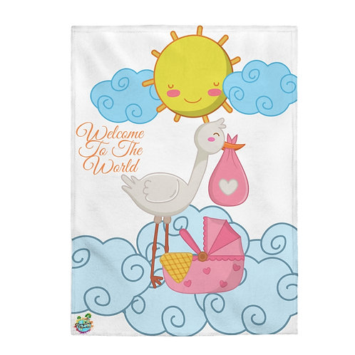 Storytime Snuggle Up Blanket; Welcome To The World
