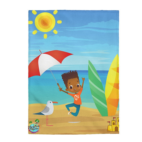 Storytime Snuggle Up Blanket; Beach Boy