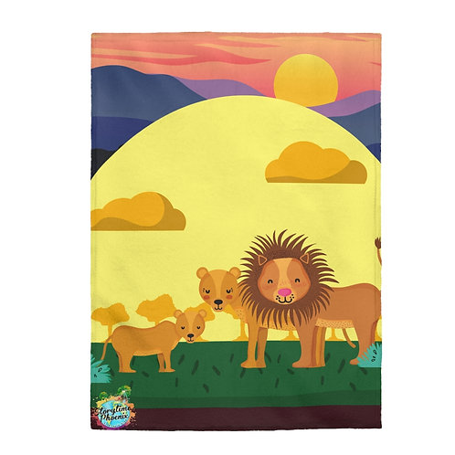 Storytime Snuggle Up Blanket; In the Jungle