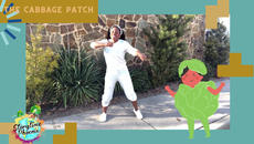 Inspired by retired Wide Reciever, Jerry Rice's touchdown dance  The Cabbage Patch is a dance-a-long for children.