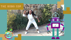 Inspired by a dance move someone taught me in grade school  The Robo Cop is a dance-a-long for children.
