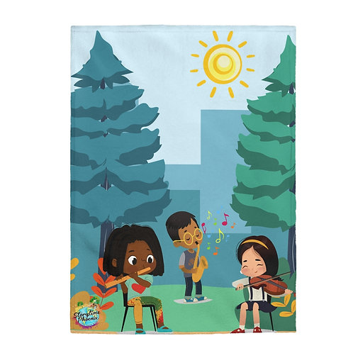 Storytime Snuggle Up Blanket; Orchestra in the Park