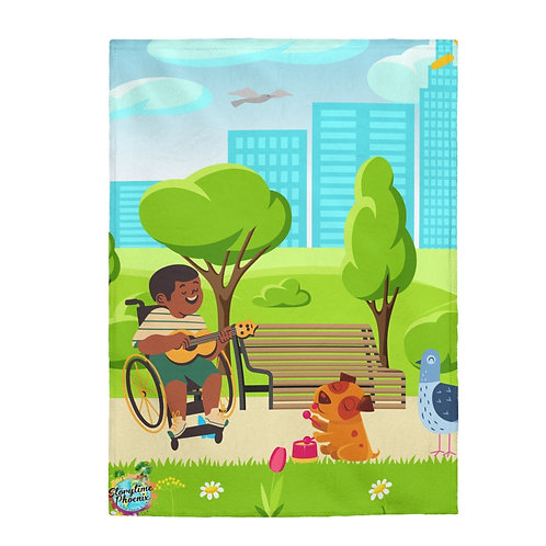 Storytime Snuggle Up Blanket; Singin' in the Park