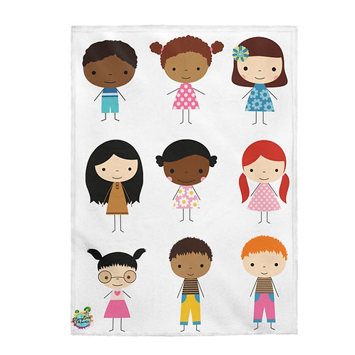 Storytime Snuggle Up Blanket; All Here