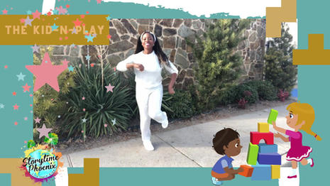 Inspired by the Iconic rap duo Kid-n-Play  The Kid-n-Play is a dance-a- long for children.