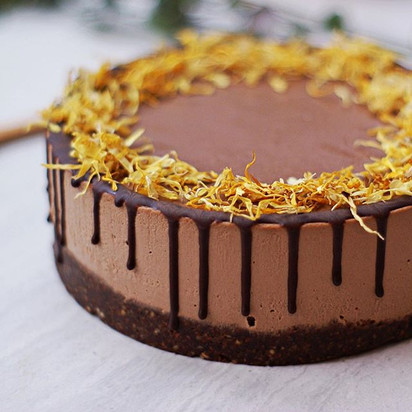This chocolate orange cake was made for