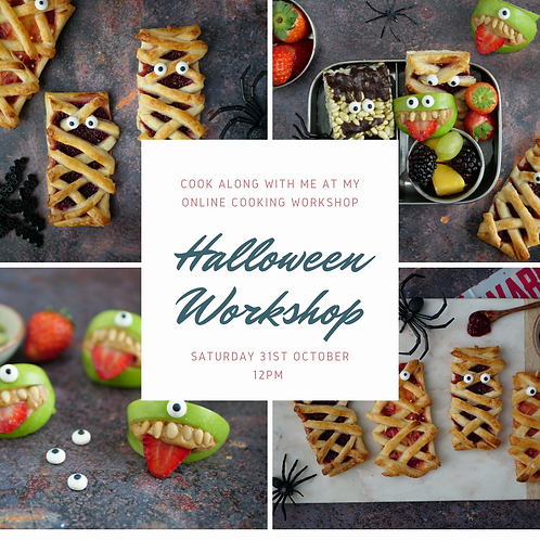 Halloween Workshop - Saturday 31st October 2020