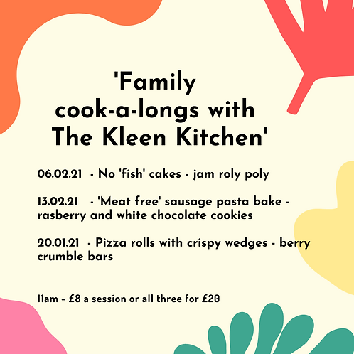 Family cook-a-longs - 13th February