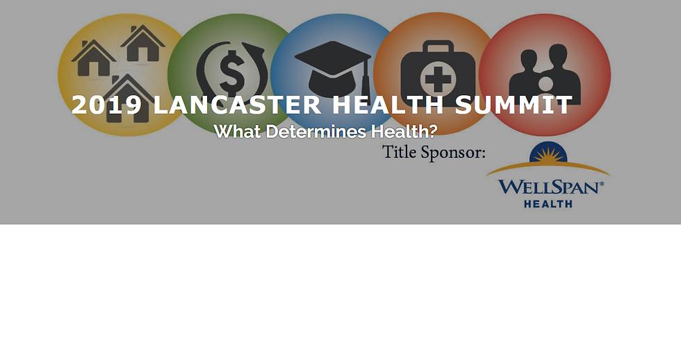 2019 Lancaster Health Summit