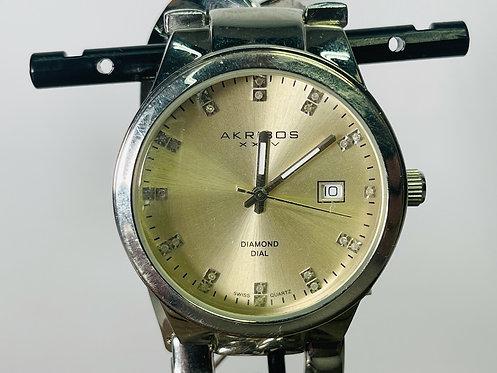 Akribos K0608SS Watch