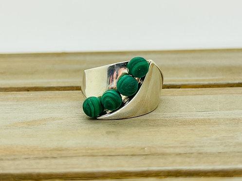 925 Jay King Malachite Ring