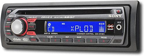 Sony CDX-GT320 CD Player
