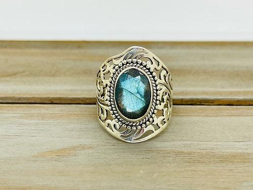 PTI India 925 Moonstone Ring