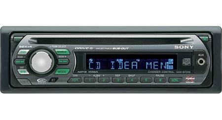 Sony CDX-GT420IP CD Player