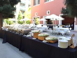 Bank of America Buffet Lunch