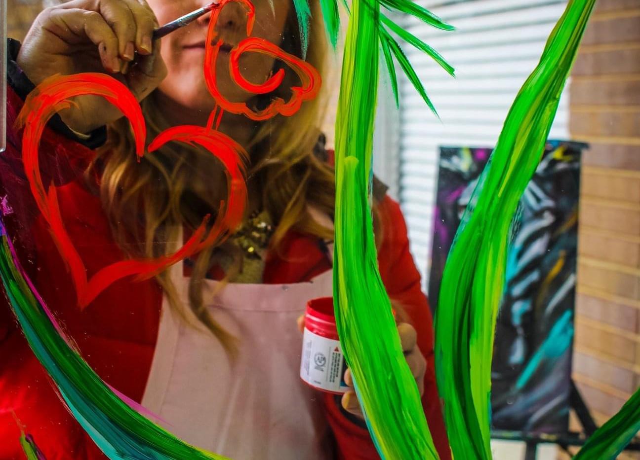 Heart Core Art Store Window