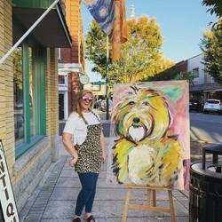 Annie- Pet Speed Painting (11 mins)