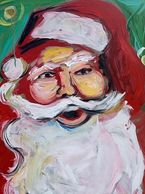 Chunky Santa (Print)