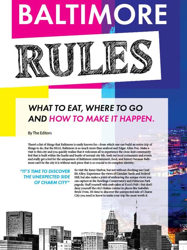 Baltimore City Guide
