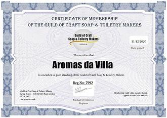 Guild-Craft-Soaps-UK-MembershipCertifica