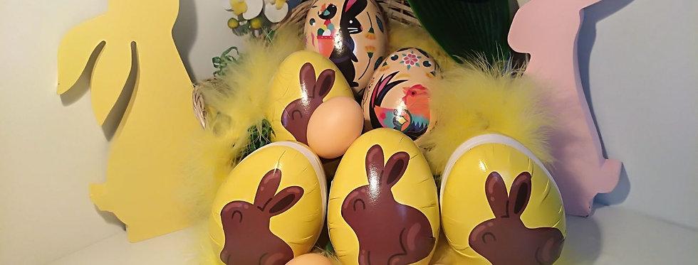 Ovos da Páscoa (com sabonetes)