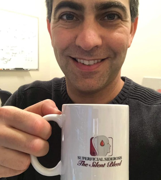 Michael Levy and Silent Bleed mug