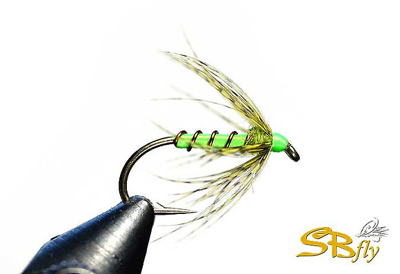 Partridge & Fluo Green