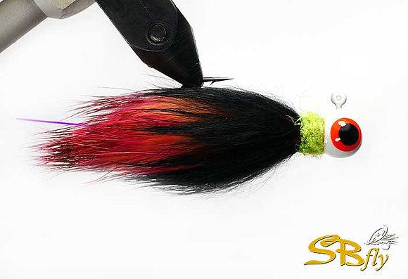 Roger #05 Black/Shrimp/Hot Pink