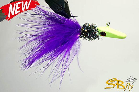 Ice Balance Trout #02 Purple Tail