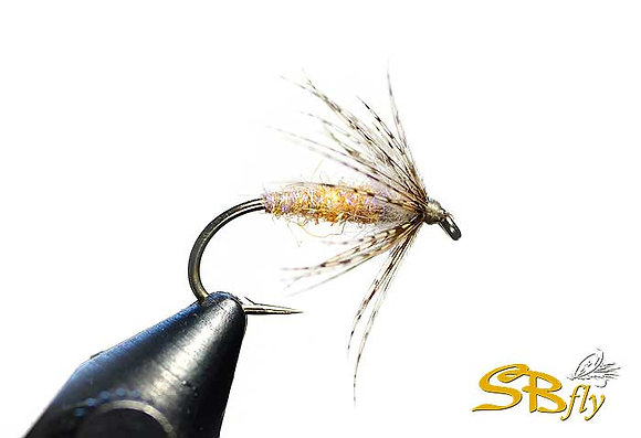 Swinging Soft Hackle Pearl Orange