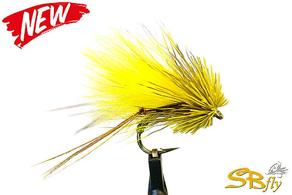 Muddler Grasshopper Yellow