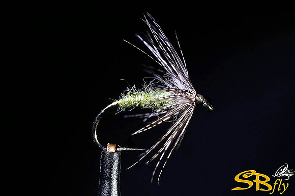 Swinging Soft Hackle Pearl Olive