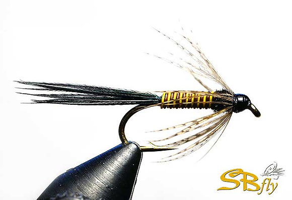 Sulphur Soft Hackle Yellow & Black