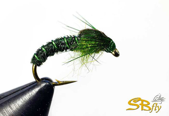 Pheasant Tail CZ Nymph Green