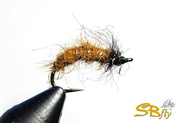 Caddis Larva Variant Golden Brown